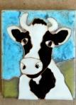 classic b/w cow